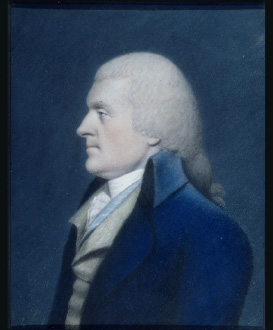 Thomas Jefferson by James Sharples Senior, from life, 1796-1797