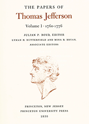The Papers of Thomas Jefferson Volume 1