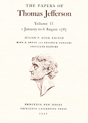 The Papers of Thomas Jefferson Volume 11