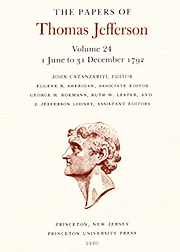 The Papers of Thomas Jefferson Volume 24