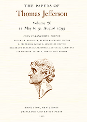 The Papers of Thomas Jefferson Volume 26