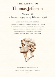 The Papers of Thomas Jefferson Volume 28