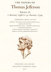 The Papers of Thomas Jefferson Volume 30