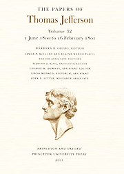 The Papers of Thomas Jefferson Volume 32
