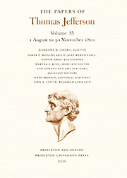The Papers of Thomas Jefferson Volume 35