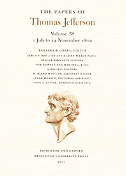 The Papers of Thomas Jefferson Volume 38