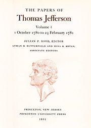 The Papers of Thomas Jefferson Volume 4