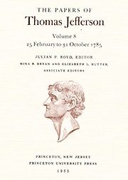 The Papers of Thomas Jefferson Volume 8
