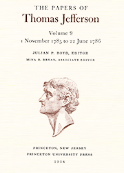 The Papers of Thomas Jefferson Volume 9
